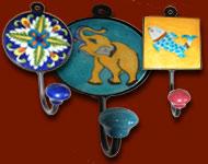 Ganchos de cerámica